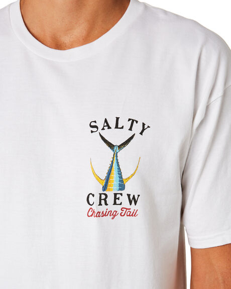 WHITE MENS CLOTHING SALTY CREW TEES - 20035092WHT