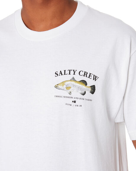 WHITE MENS CLOTHING SALTY CREW TEES - 20035303AWHT