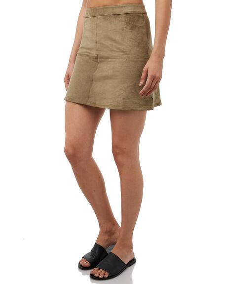 AMRY WOMENS CLOTHING RHYTHM SKIRTS - SKT00W-SK01ARMY