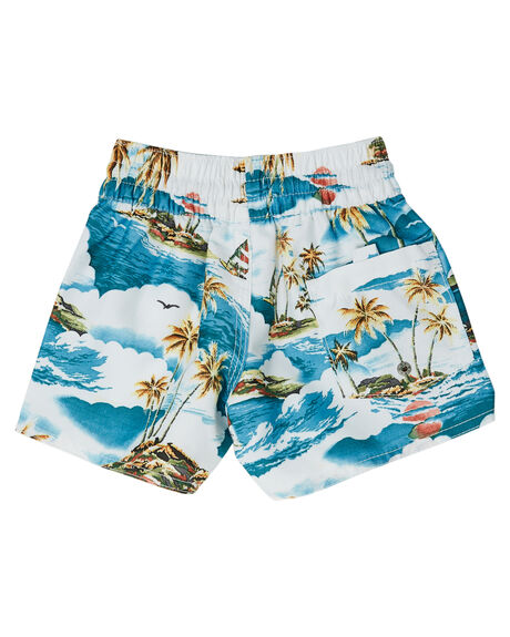 BLUE KIDS BOYS RIP CURL BOARDSHORTS - OBOCX90070