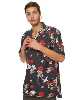 BLACK MENS CLOTHING ZANEROBE SHIRTS - 301-TDKIBLK