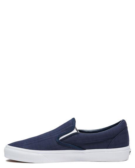 BLUE MENS FOOTWEAR VANS SLIP ONS - VN0A4U38WVCBLU