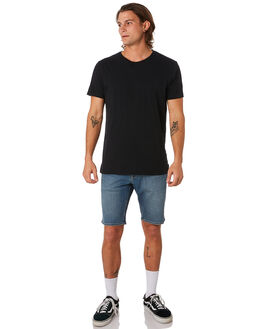 SEVENTIES INDIGO MENS CLOTHING VOLCOM SHORTS - A2031802SVI