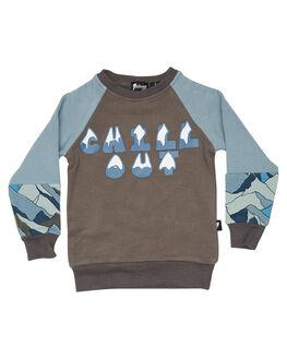 GREY BLUE KIDS BOYS RADICOOL DUDE JUMPERS + JACKETS - RD1326GRYBL