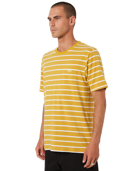 MUSTARD MENS CLOTHING POLER TEES - 211APM3501-MST