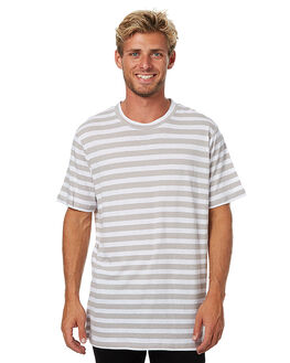 STONE STRIPE MENS CLOTHING ASSEMBLY TEES - AM-W21701STRP