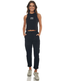 BLACK WOMENS CLOTHING STUSSY PANTS - ST172602BLK