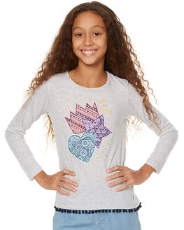 GREY MARLE KIDS GIRLS EVES SISTER TEES - 9990031GRM