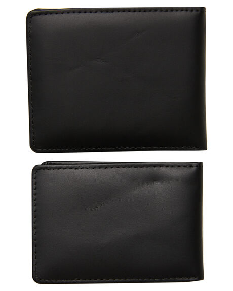 BLACK MENS ACCESSORIES HURLEY WALLETS - HU0078010