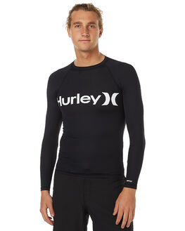 BLACK SURF RASHVESTS HURLEY MENS - MRG000056000A