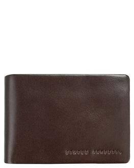 CHOCOLATE MENS ACCESSORIES STATUS ANXIETY WALLETS - SA2022CHO