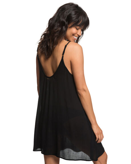 ANTHRACITE WOMENS CLOTHING ROXY DRESSES - ERJX603122KVJ0