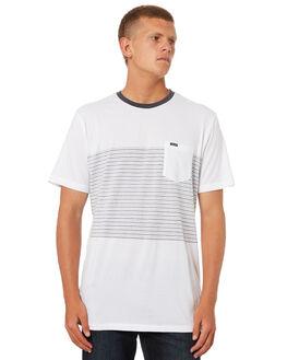 WHITE MENS CLOTHING VOLCOM TEES - A0131803WHT