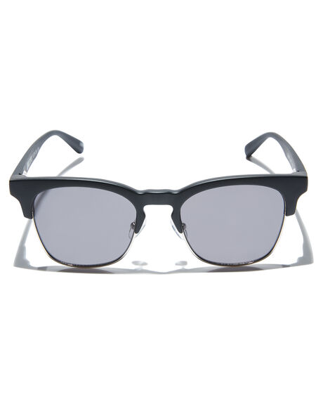 MATTE BLACK MENS ACCESSORIES LOCAL SUPPLY SUNGLASSES - TOWERBKM1