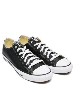 BLACK MENS FOOTWEAR CONVERSE SNEAKERS - SS132174BLKM