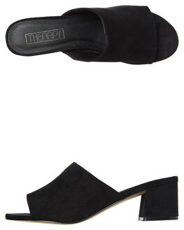 BLACK WOMENS FOOTWEAR THERAPY HEELS - 14M0843BLK