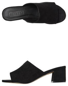 BLACK WOMENS FOOTWEAR THERAPY HEELS - 14M0843BLK