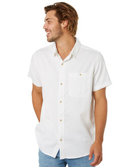 WHITE MENS CLOTHING ROLLAS SHIRTS - 15787001