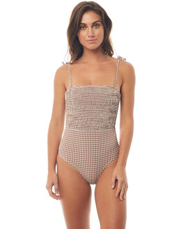ALMOND WOMENS SWIMWEAR PEONY SWIMWEAR ONE PIECES - HO18-13-ALM