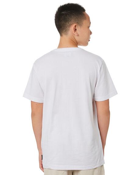 WHITE KIDS BOYS RUSTY TOPS - TTB0658WHT