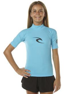 BLUE SURF RASHVESTS RIP CURL GIRLS - WLY5DB0070