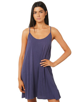 INK BLUE WOMENS CLOTHING RUSTY DRESSES - DRL0912IBE