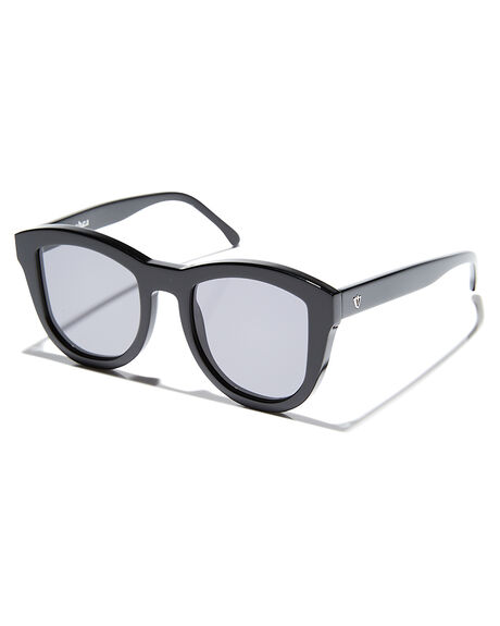 GLOSS BLACK MENS ACCESSORIES VALLEY SUNGLASSES - S0144GLBLK