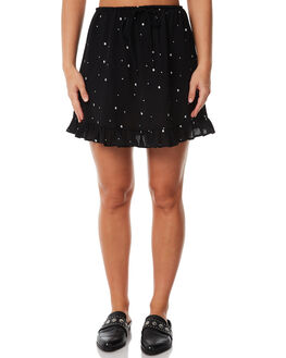 BLACK STAR WOMENS CLOTHING RUE STIIC SKIRTS - SW18-21BSBLKST