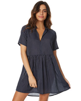 NAVY WOMENS CLOTHING RVCA DRESSES - R271754NVY