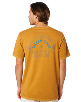 CAMEL MENS CLOTHING VOLCOM TEES - A5211970CML