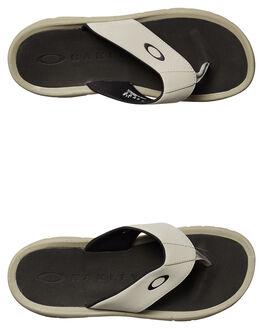 STONE GRAY MENS FOOTWEAR OAKLEY THONGS - 1503022Y