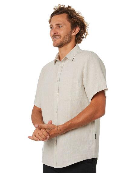 NATURAL MENS CLOTHING MR SIMPLE SHIRTS - M-04-33-10NAT