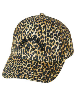 LEOPARD BLACK WOMENS ACCESSORIES THE UPSIDE HEADWEAR - USA319001LEPBL