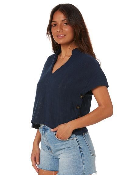 BLUE NIGHTS WOMENS CLOTHING RUSTY FASHION TOPS - SCL0343BNI