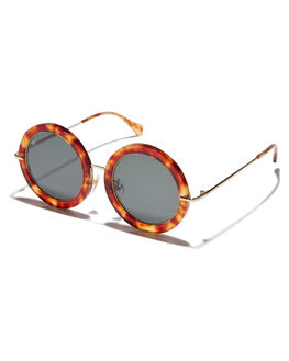 BOURBON WOMENS ACCESSORIES RAEN SUNGLASSES - NOM-0127-GRN