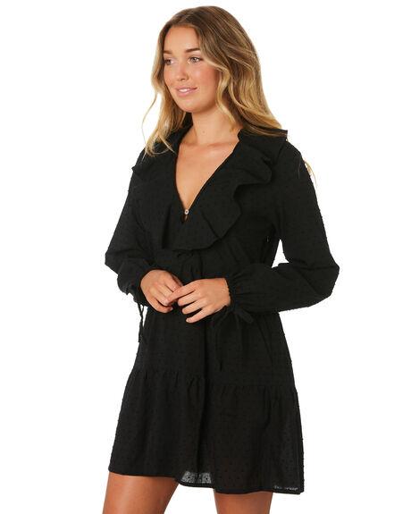 BLACK OUTLET WOMENS LILYA DRESSES - CDD54-LAW19BLK