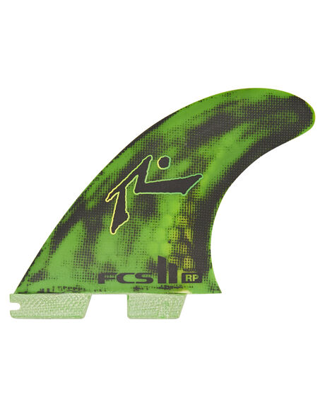 GREEN BLACK BOARDSPORTS SURF FCS FINS - FRPM-PC01-MD-TS-RGNB