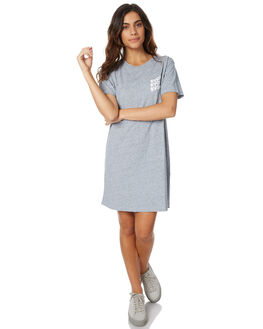 GREY MARLE WOMENS CLOTHING RVCA DRESSES - R271758GREY