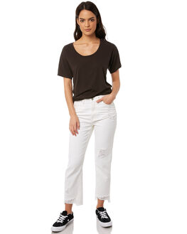 WHITE WOMENS CLOTHING RES DENIM JEANS - RD-WPN18003WHT