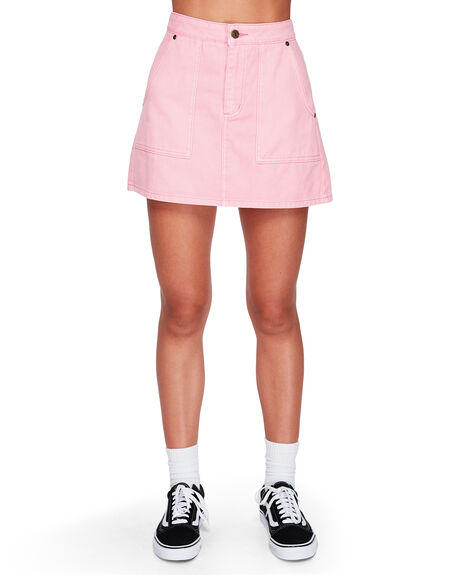PINK WOMENS CLOTHING ELEMENT SKIRTS - EL-294853-P01