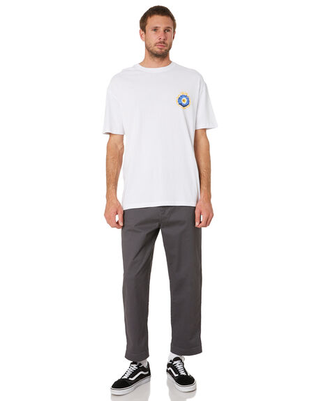 WHITE MENS CLOTHING STUSSY TEES - ST016006WHITE