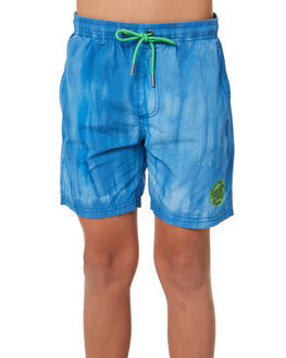 BLUE KIDS BOYS SANTA CRUZ SHORTS - SC-YBD8139BLU