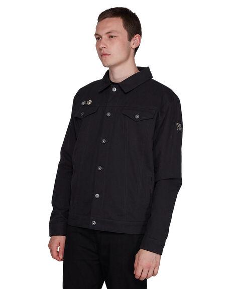 FLINT BLACK MENS CLOTHING ELEMENT JACKETS - EL-107465-IFL