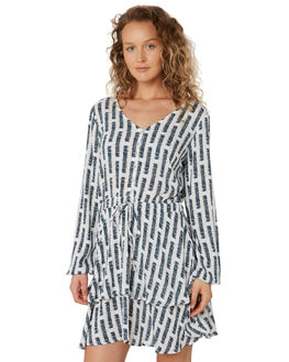 BLUE PRINT WOMENS CLOTHING ELWOOD DRESSES - W927063BF