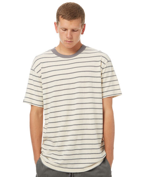 NATURAL CHAR MENS CLOTHING AFENDS TEES - 01-10-023NATCH
