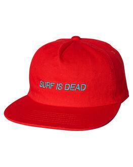 CHILLI OUTLET MENS SURF IS DEAD HEADWEAR - SD18HA6-02TEA