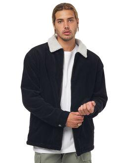 VINTAGE BLACK MENS CLOTHING RUSTY JACKETS - JKM0386VBL