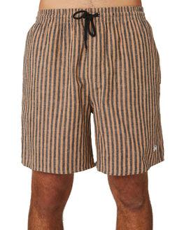 TAN MENS CLOTHING STUSSY SHORTS - ST093600TAN