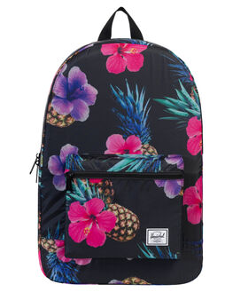 BLACK PINAPPLE WOMENS ACCESSORIES HERSCHEL SUPPLY CO BAGS - 10076-01861BKPNE
