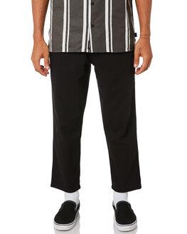 VINTAGE BLACK MENS CLOTHING THRILLS PANTS - TA9-403VBVBLK